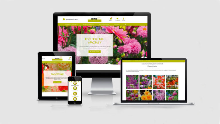Lemo Gartendesign – neuer Online-Shop mit prächtigen Farben und persönlicher Note