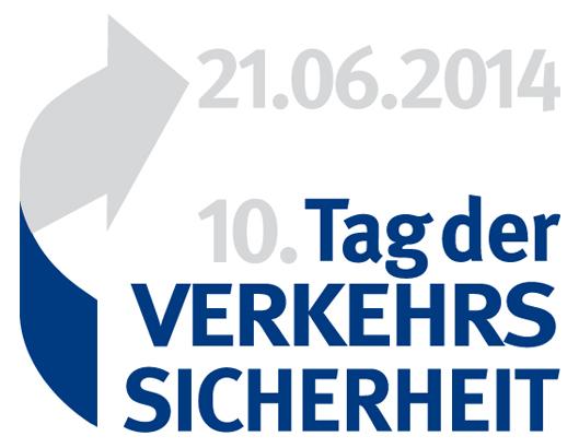 """Logo zur Aktion """"Tag der Verkehrssicherheit 2014"""" des DVR"""
