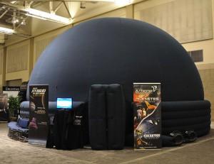 Das mobile Planetarium des Galileum Solingen