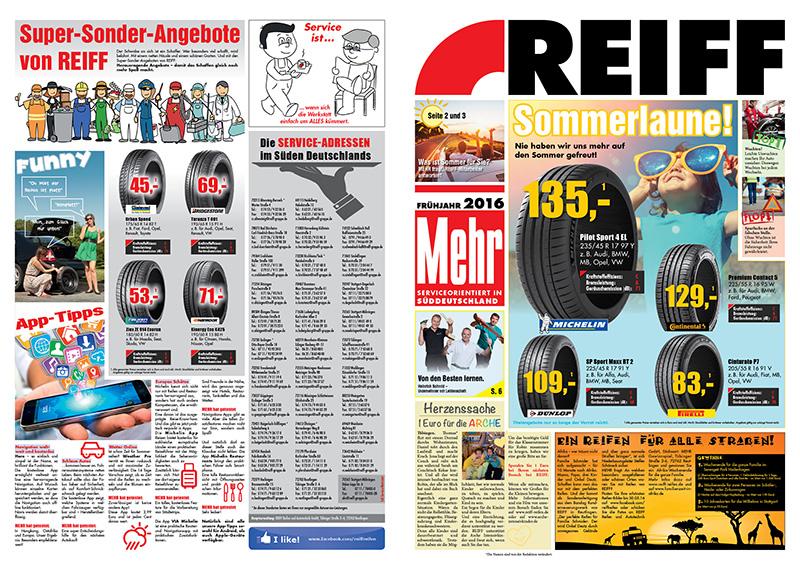 REIFF Reifen und Autotechnik - Postwurf