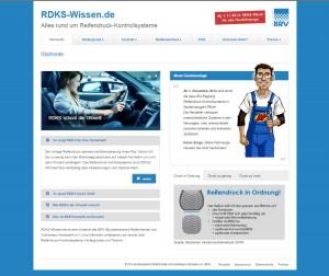 Screenshot der BRV-Informationsplattform RDKS-Wissen.de