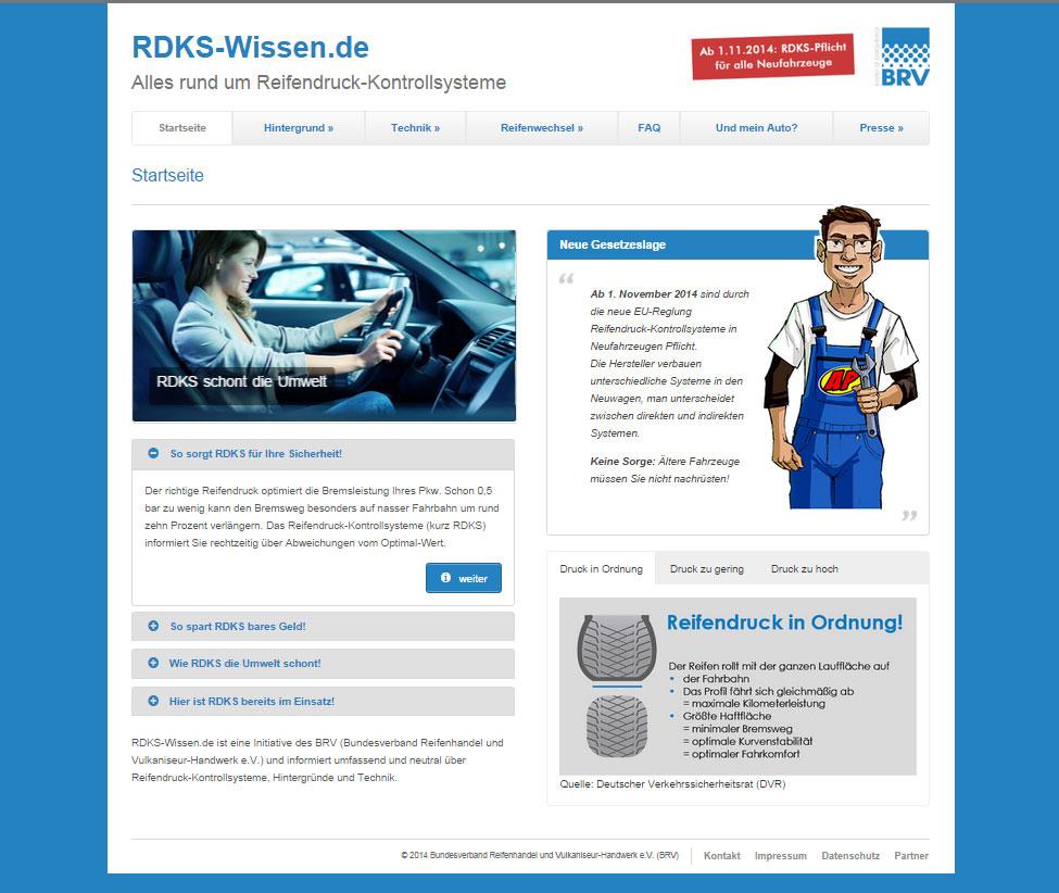Banner der Website RDKS-Wissen.de|