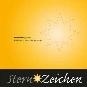 """Titelbild des """"Sternzeichen 2013"""" des Kindermissionswerks"""