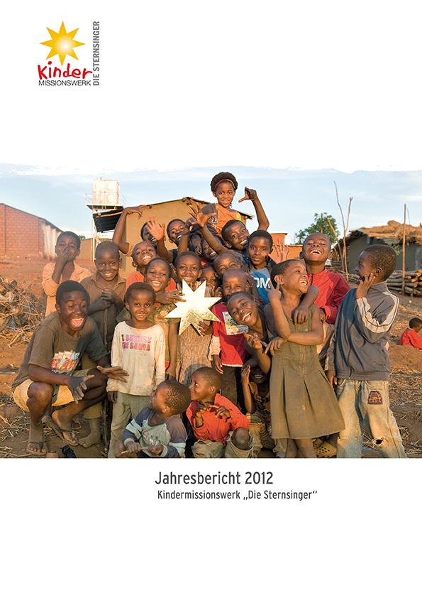 Titelbild des Jahresrückblicks 2013 des Kindermissionswerks