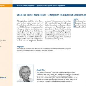 vhs pro business Seminarprogramm web seite10