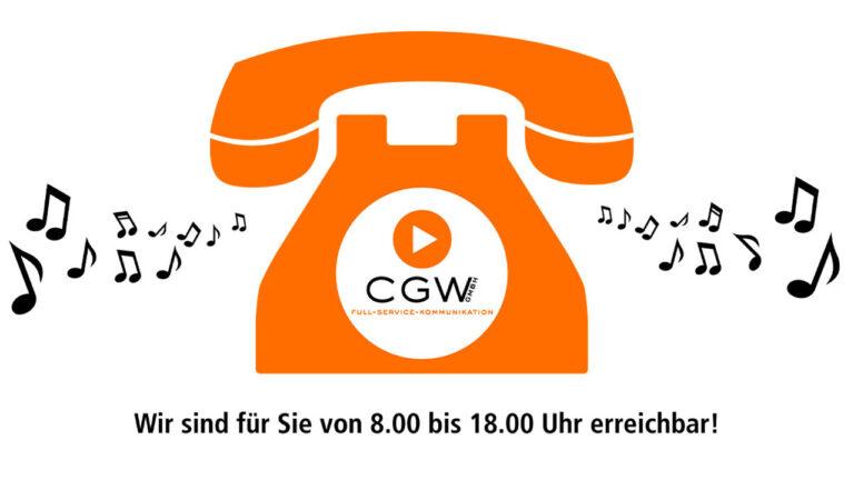 Warteschleifentelefon