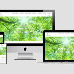 Neue Webseite für Trauerpark in Landshut und Passau