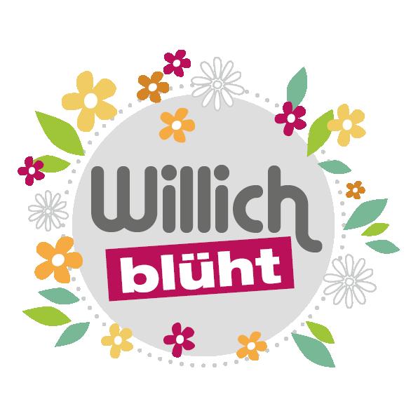 Logo Willich blüht